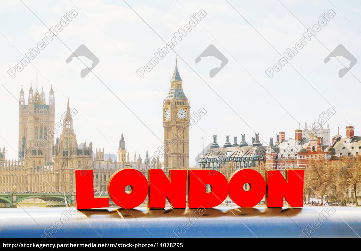 houses, of, parliament, with, the, clock - 14078295