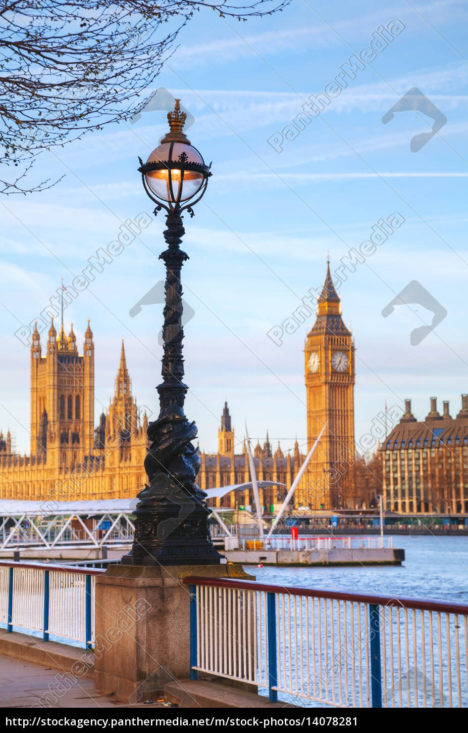 overview, of, london, with, the, clock - 14078281