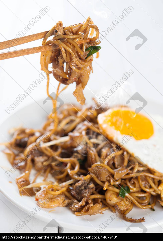 asian, dish, stir, fried, char, kuey - 14079131