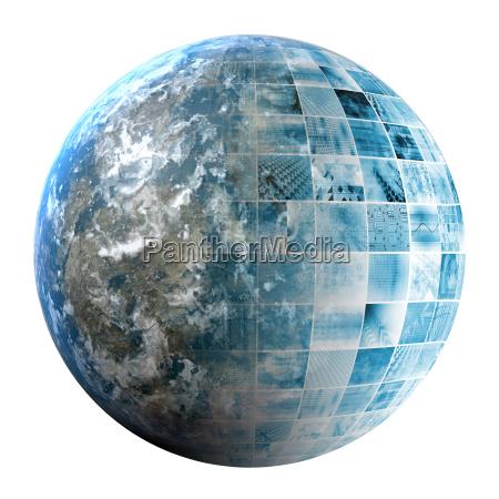 business, technology, global, network - 14079629