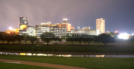 fort, worth, texas, downtown, skyline, trinity - 14079907