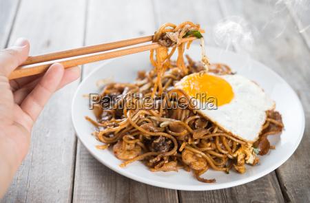 stir, fried, char, kway, teow - 14079125
