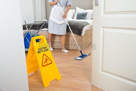female, maid, cleaning, floor - 14080027