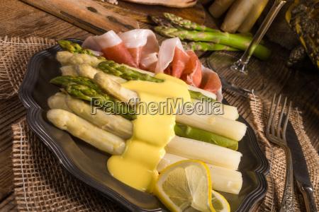 asparagus, with, ham - 14081877