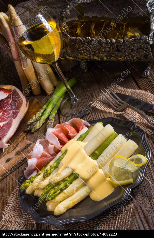 asparagus, with, ham - 14082223