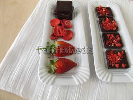 homemade, strawberry, chocolate - 14082631