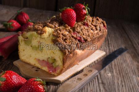 rhubarb, cake - 14082247
