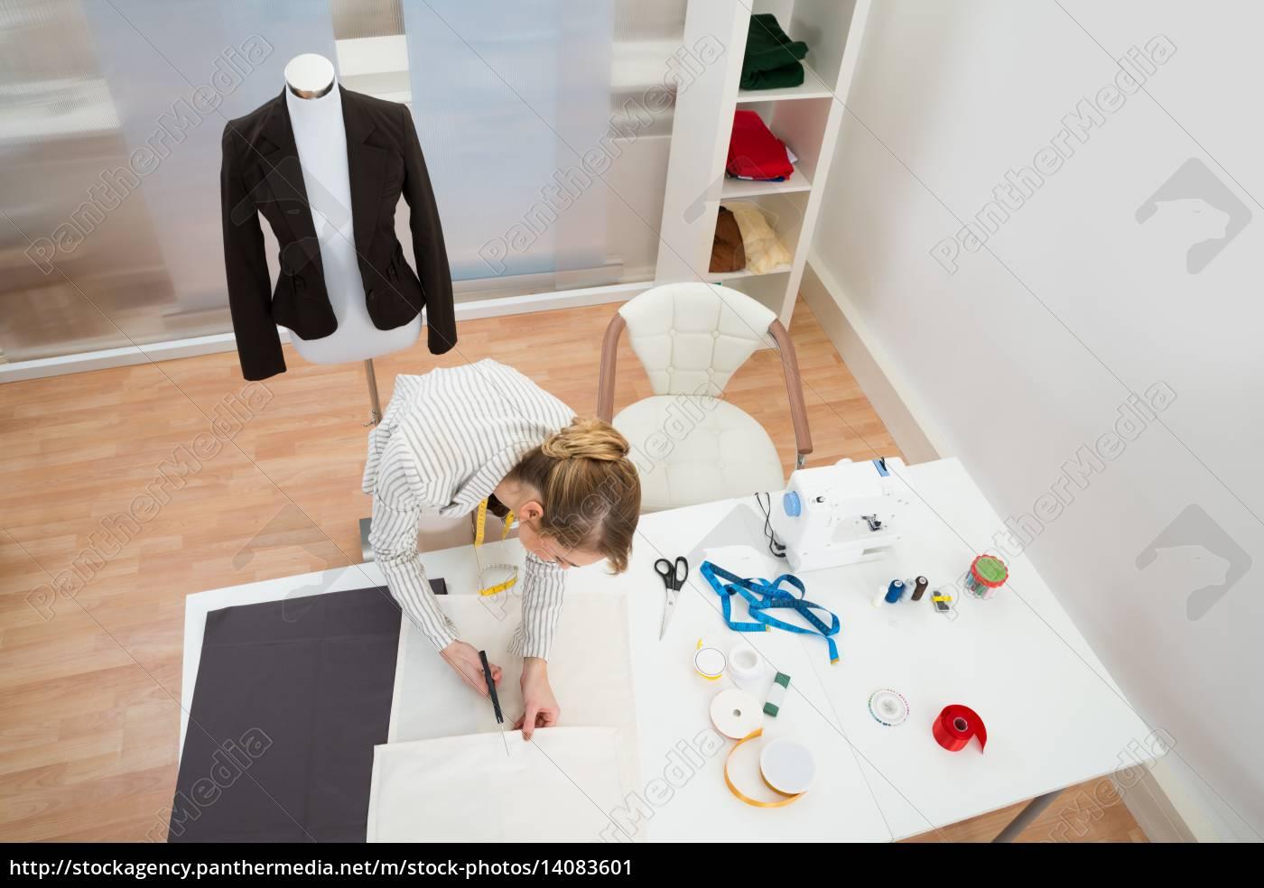 fashion, designer, working, in, studio - 14083601