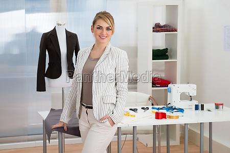 portrait, of, confident, smiling, fashion, designer - 14083559