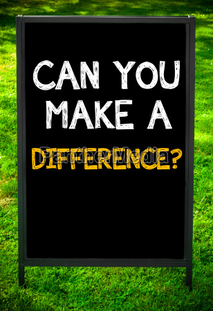 can, you, make, a, difference? - 14085705