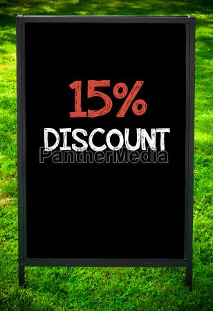 fifteen, percent, discount - 14085779