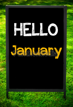hello, january - 14085897