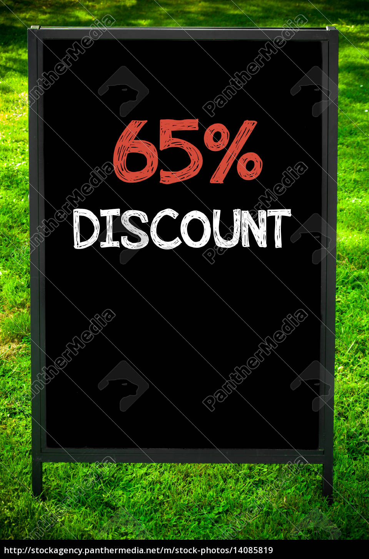 sixty-five, percent, discount - 14085819