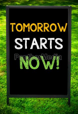 tomorrow, starts, now! - 14085671