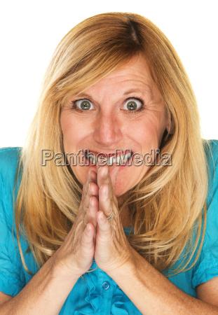 deceitful, mature, woman - 14087761