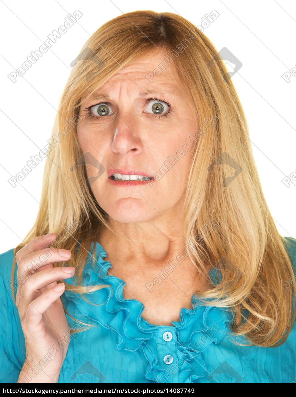 overwhelmed, woman - 14087749