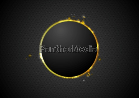 abstract glow circle background