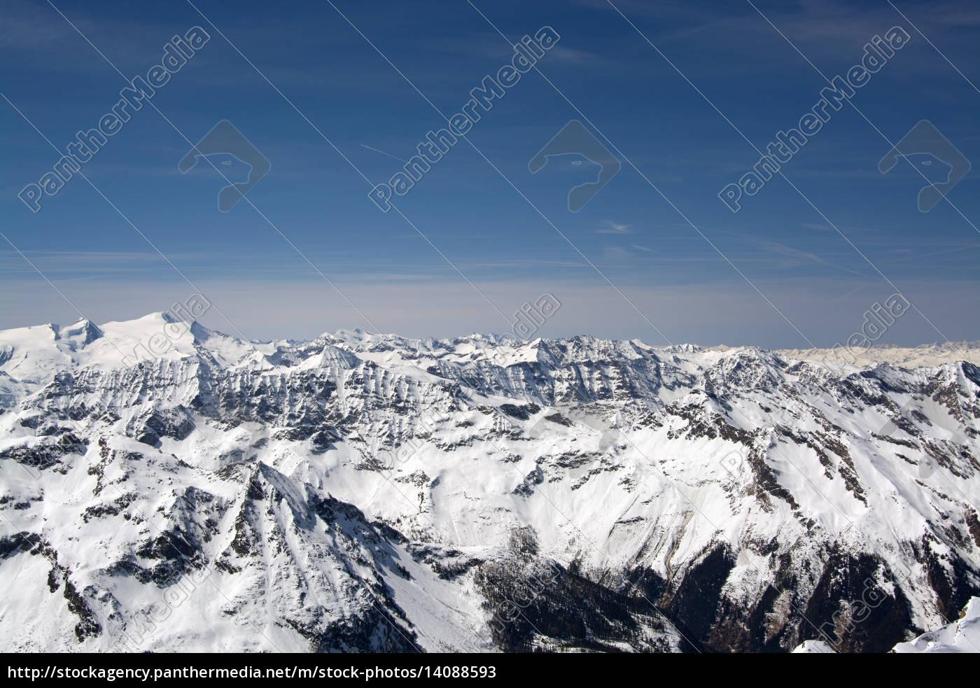 alps, panorama, austria - 14088593