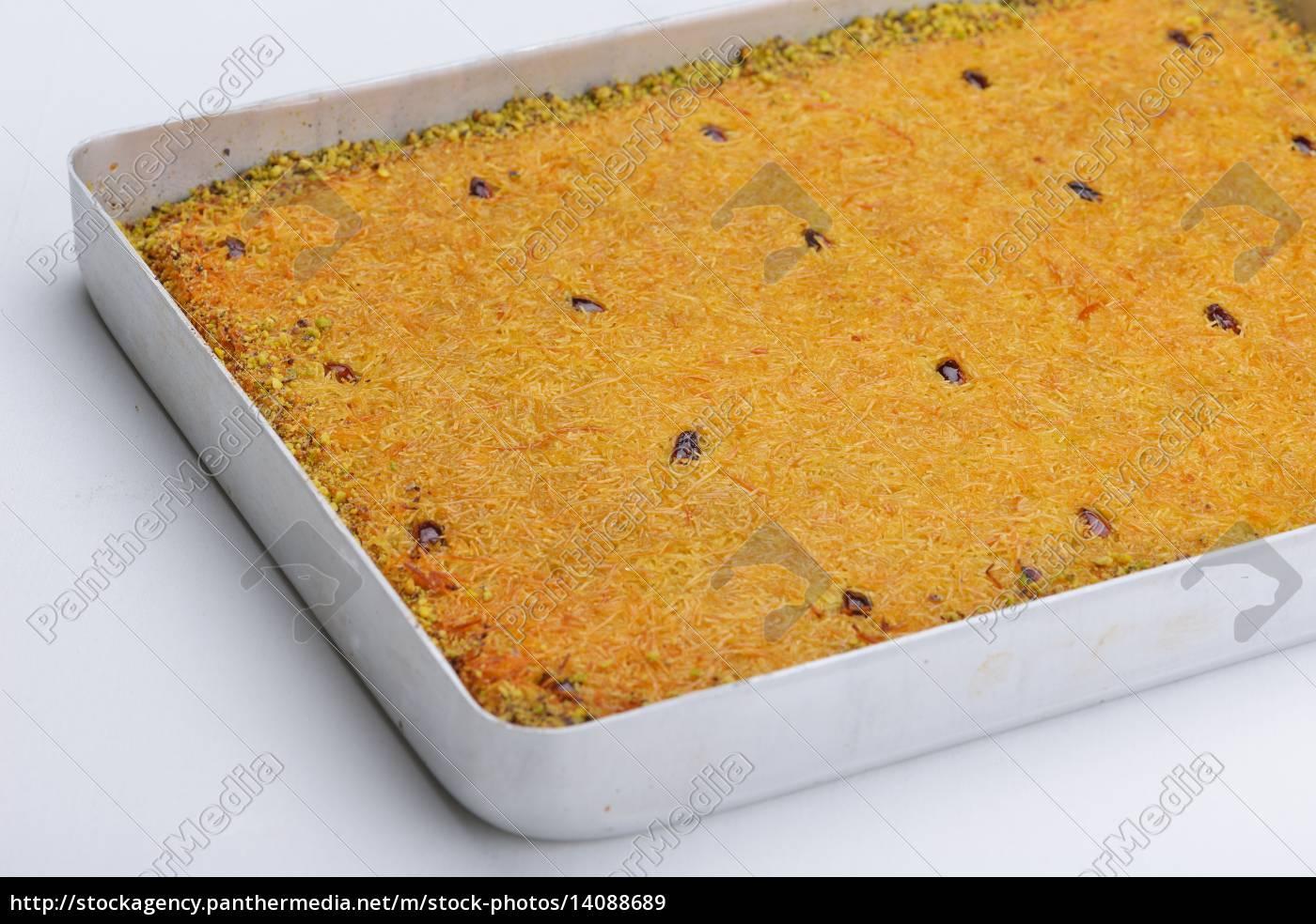 turkish, pastry, kadaif - 14088689