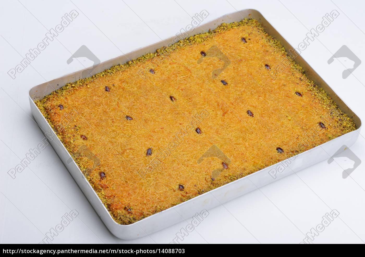 turkish, pastry, kadaif - 14088703