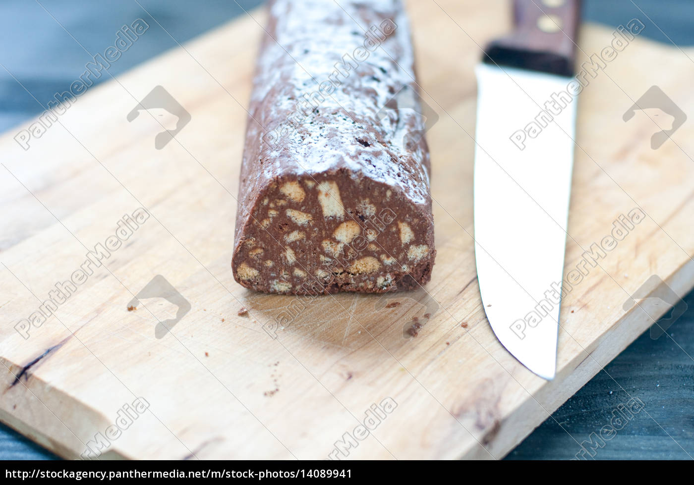 chocolate, salami, with, dark, chocolate, and - 14089941