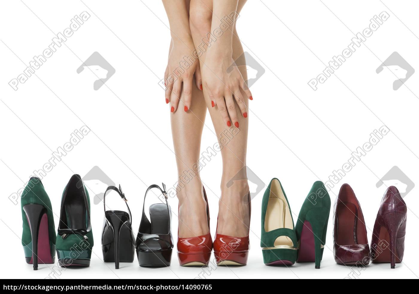 diverse, couple, high, heels, stilettos, as - 14090765