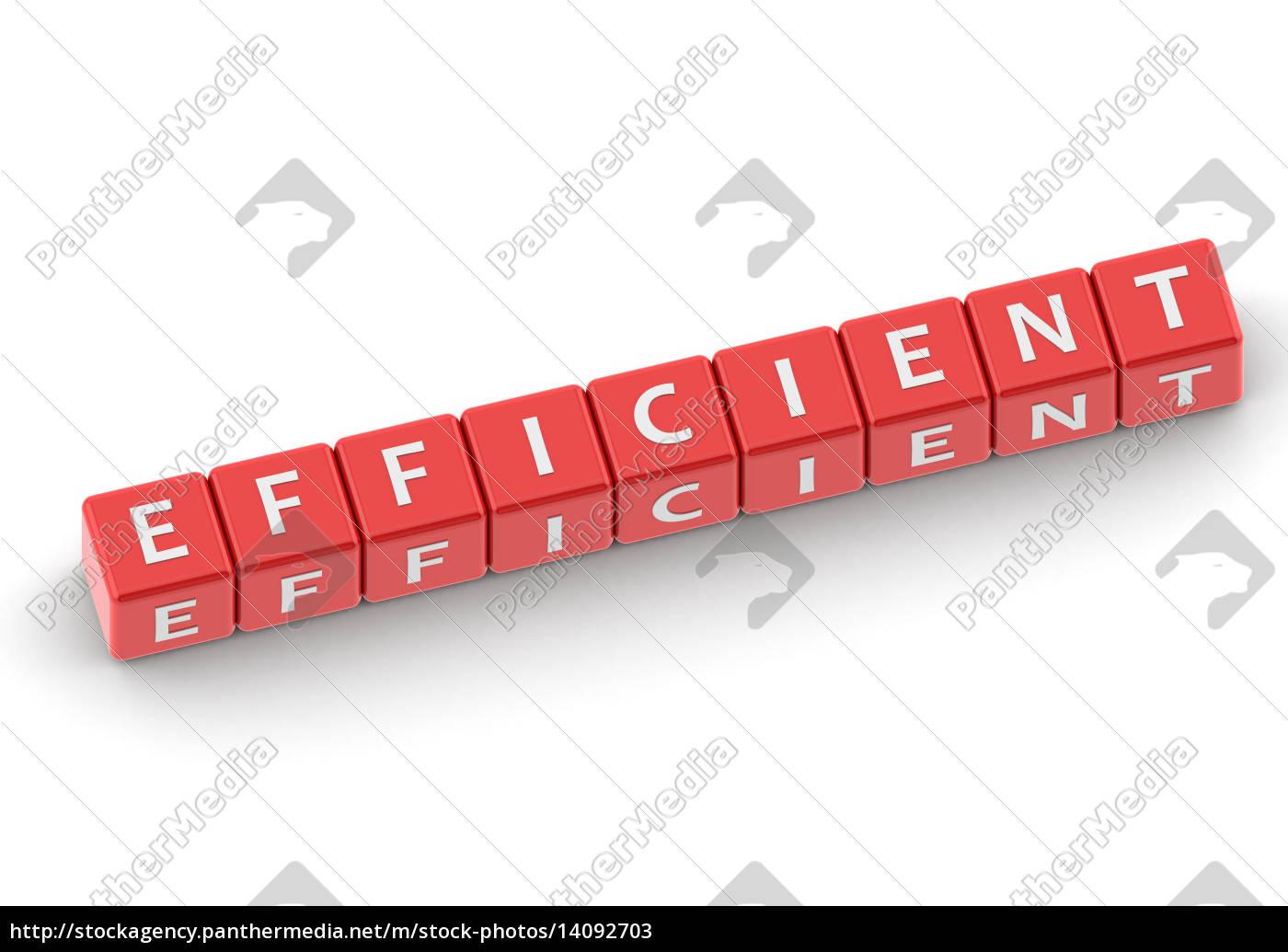 buzzwords, efficient - 14092703