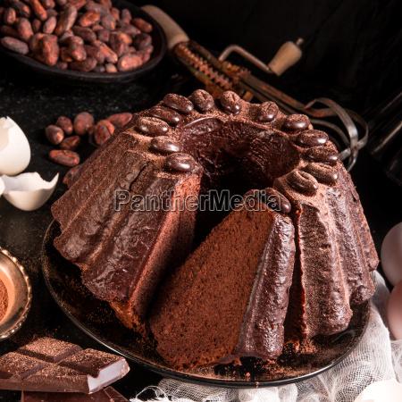 chocolate, cake - 14092307