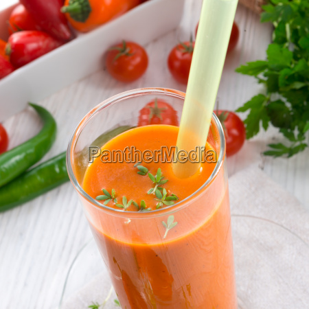 red, paprika, smoothie - 14092297
