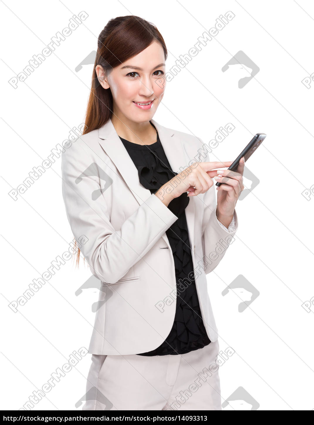 asian, businesswoman, use, of, cellphone - 14093313