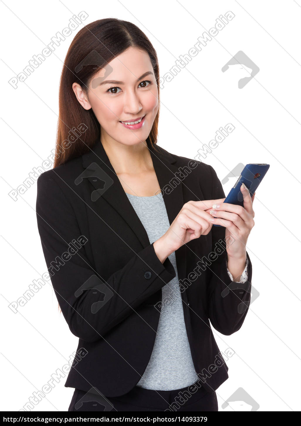 businesswoman, use, of, cellphone - 14093379