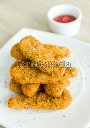fried, chicken, nuggets - 14093557