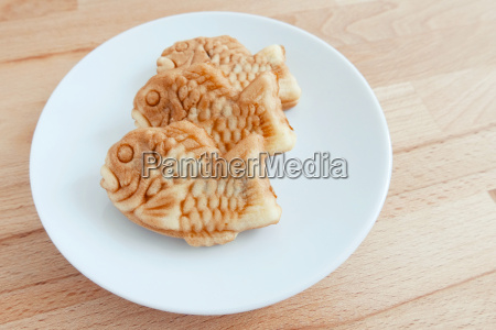 japanese, fish-shaped, cake, taiyaki, on, the - 14093619