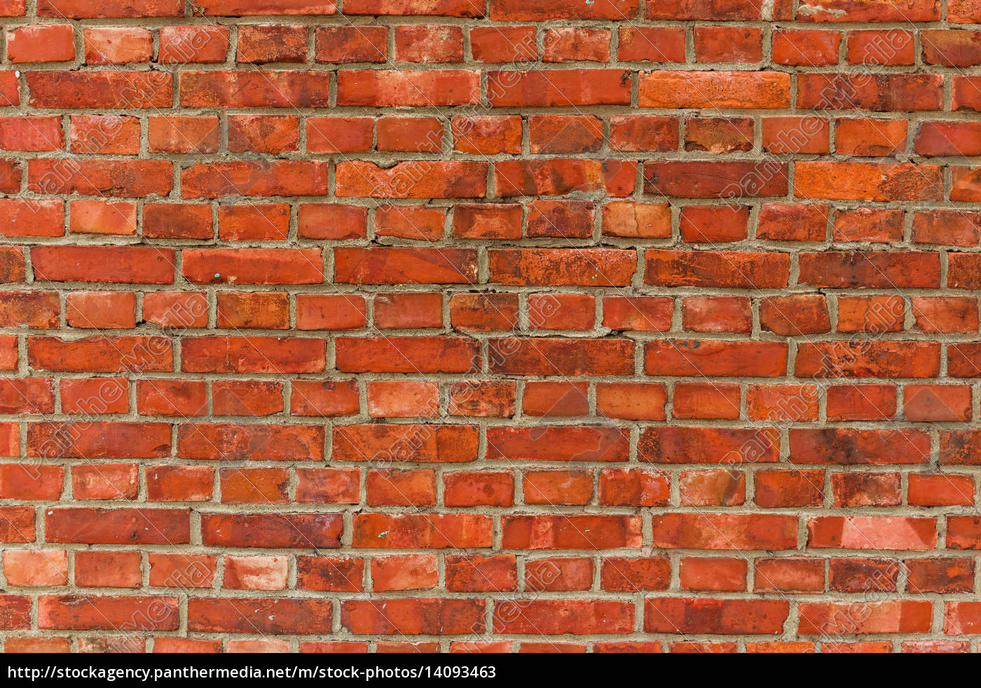red, brick, wall, texture, background - 14093463