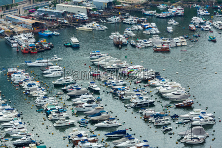 sheltered, harbour, in, hong, kong - 14093751