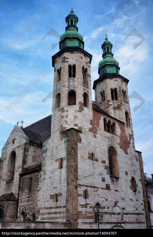 church, of, st., andrew, in, krakow - 14094707