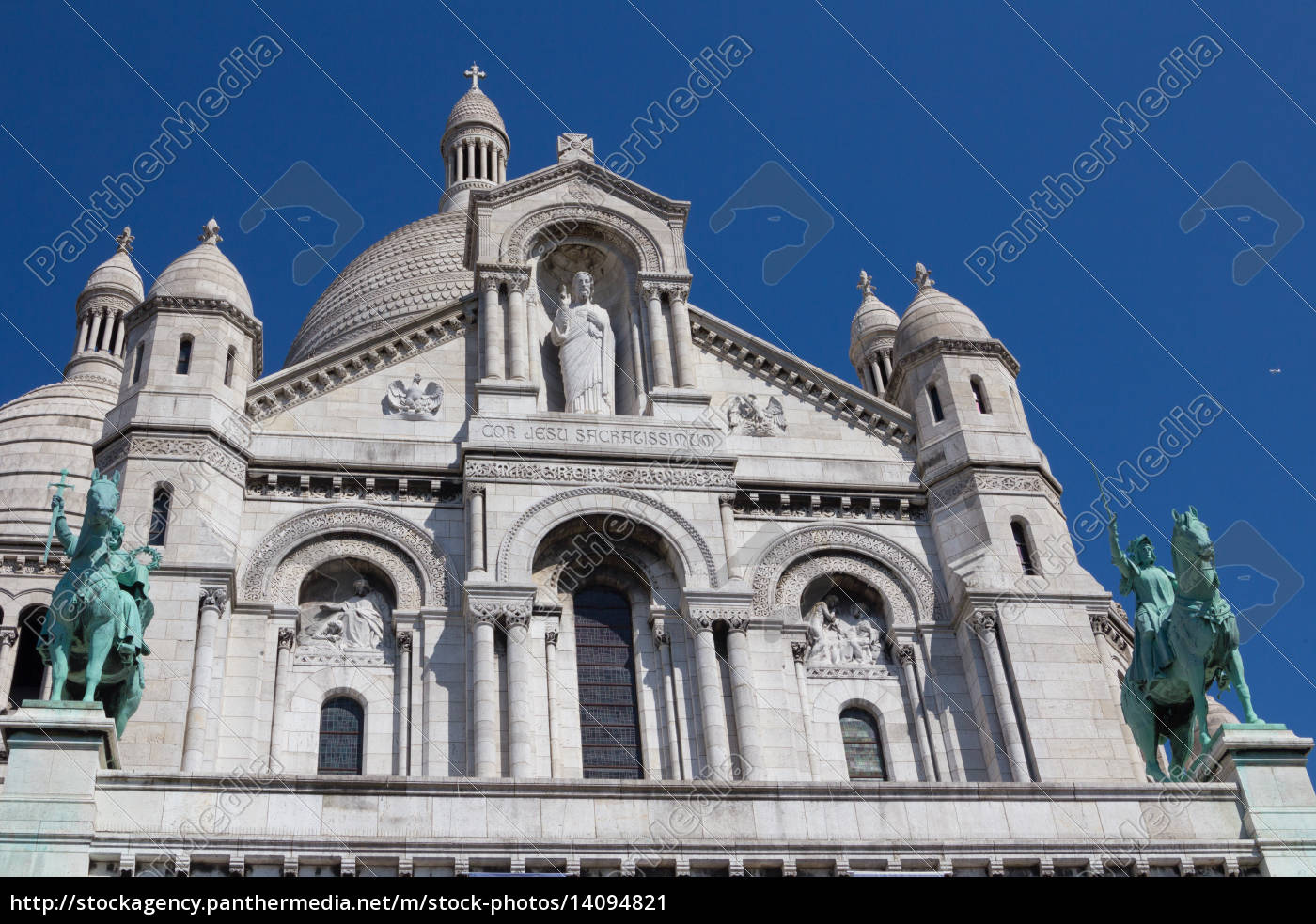 sacre, coeur, cathedral, on, montmartre, , - 14094821