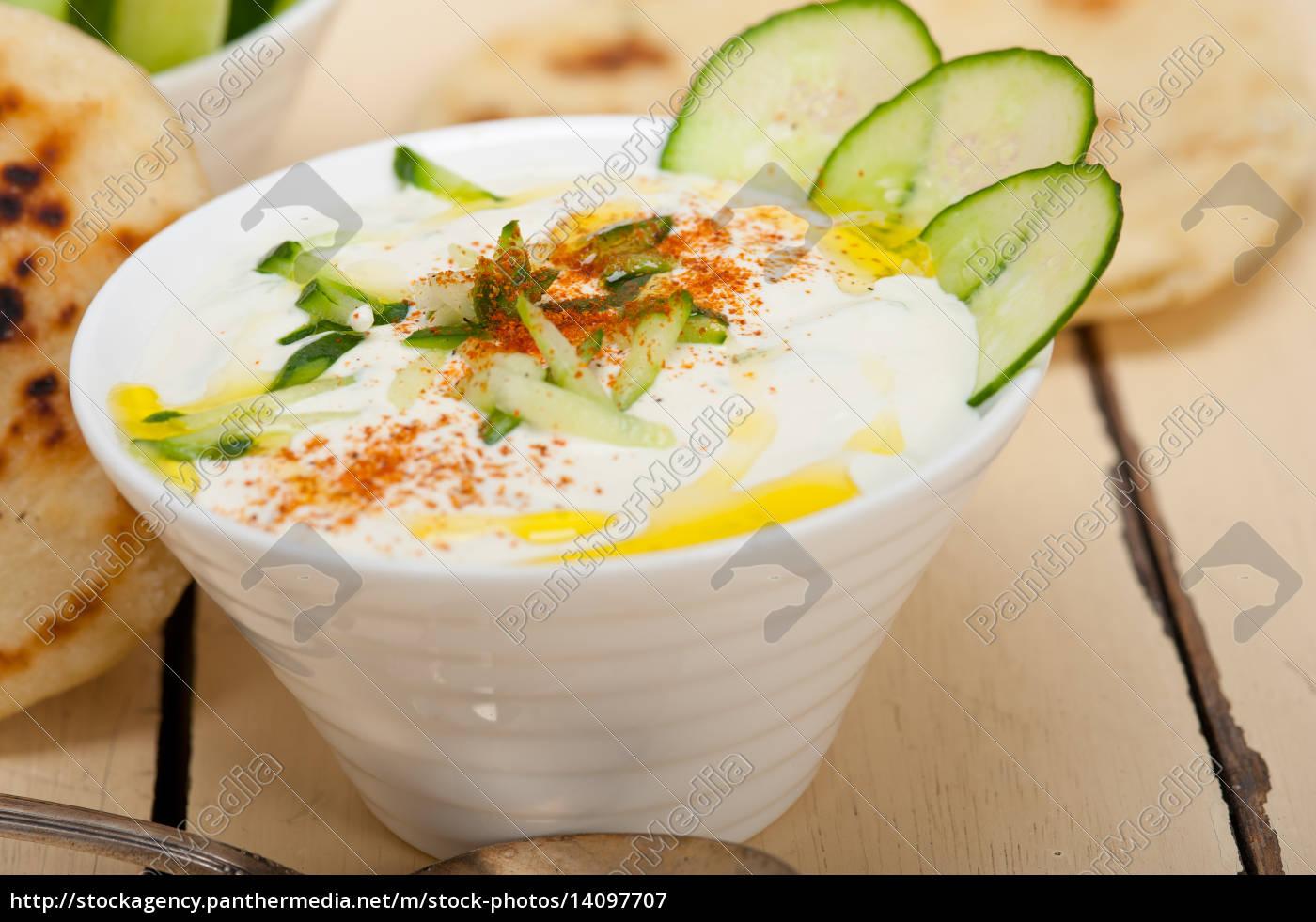 arab, middle, east, goat, yogurt, and - 14097707