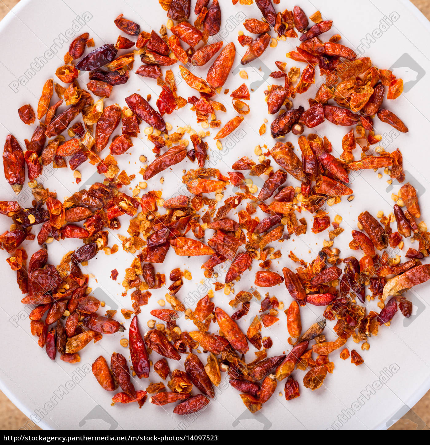 dried, chili, peppers - 14097523