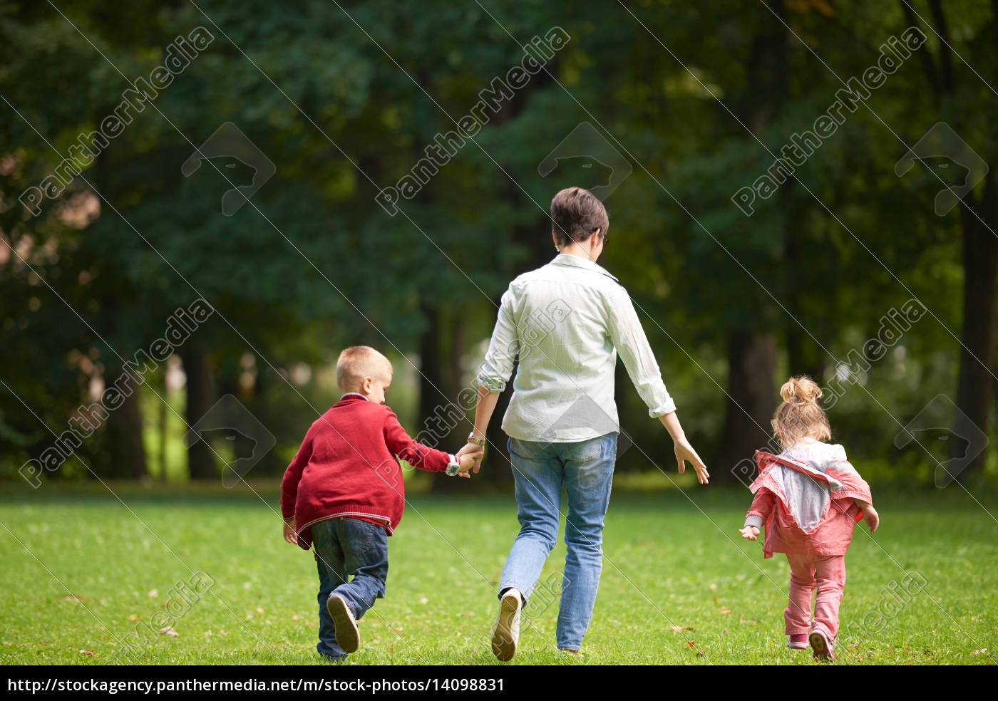 happy, family, playing, together, outdoor, in - 14098831