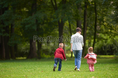 happy, family, playing, together, outdoor, in - 14098833