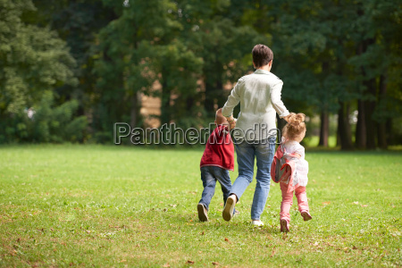 happy, family, playing, together, outdoor, in - 14098839