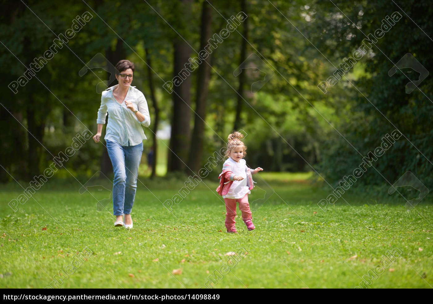 happy, family, playing, together, outdoor, in - 14098849