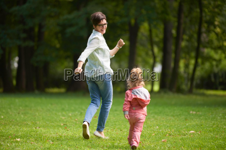 happy, family, playing, together, outdoor, in - 14098859