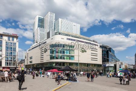 galeria kaufhof shopping center in the