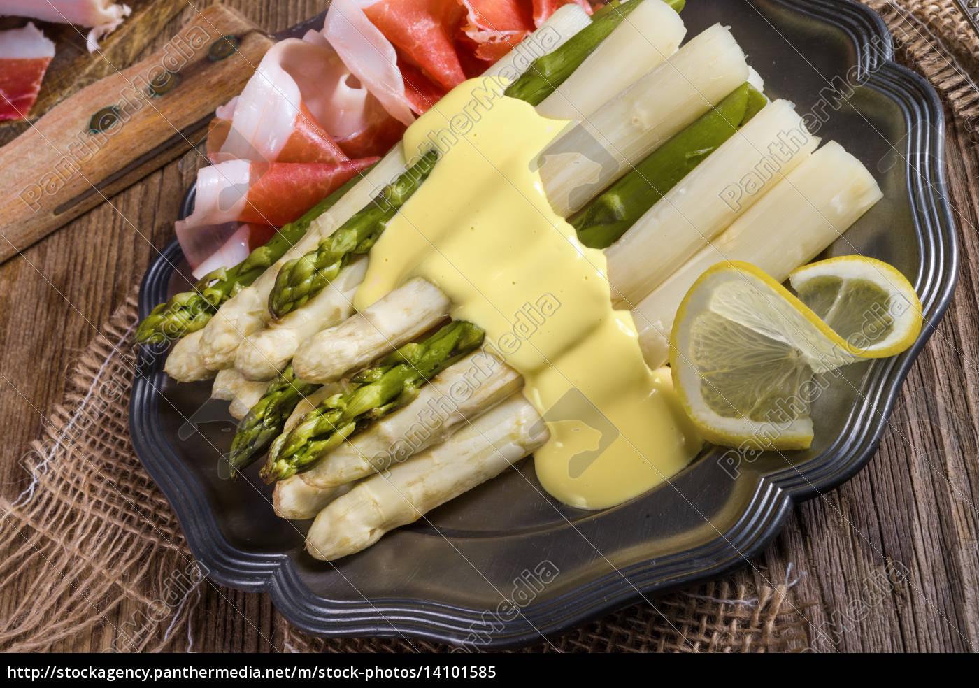 asparagus, with, ham - 14101585