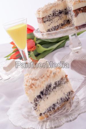 cheese, almond, cake - 14101561