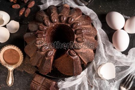 chocolate, cake - 14101565