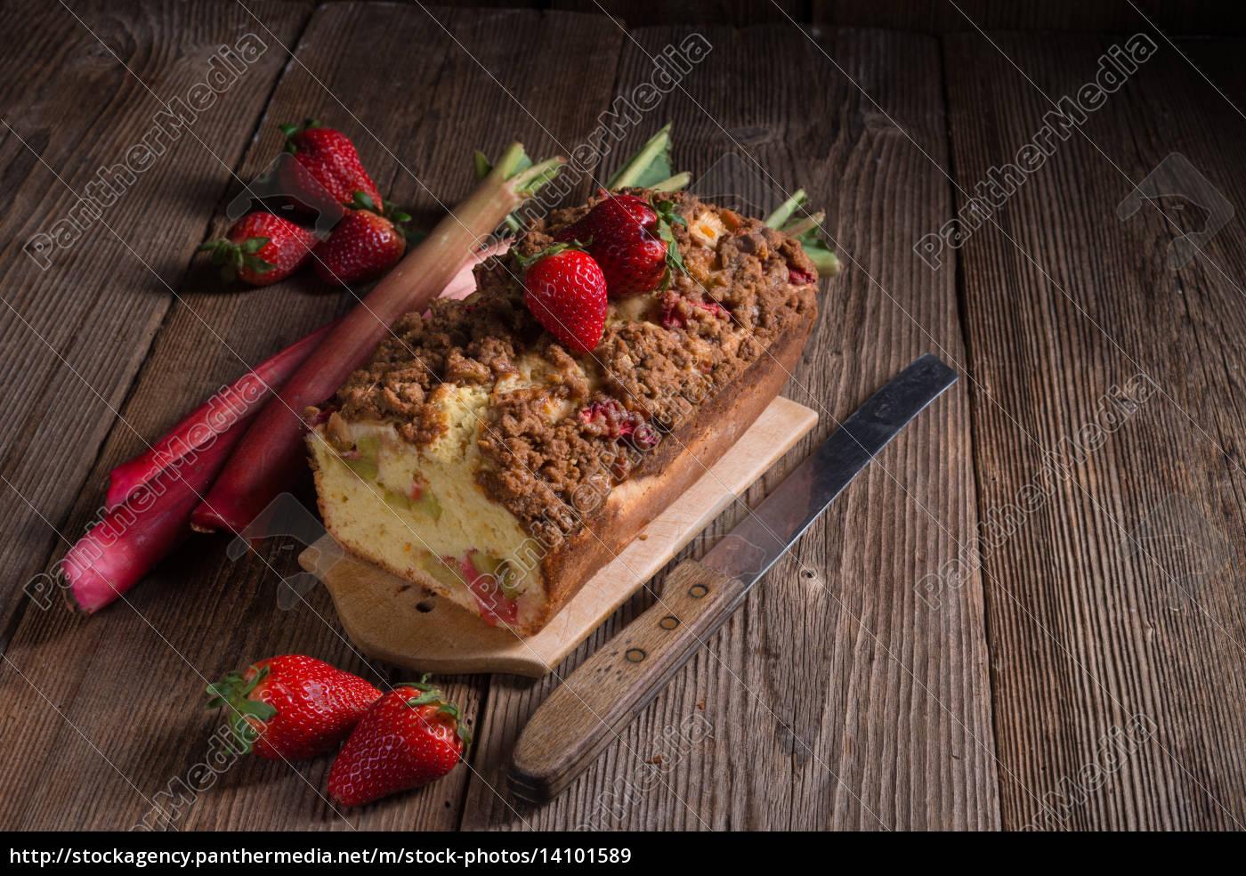 rhubarb, cake - 14101589