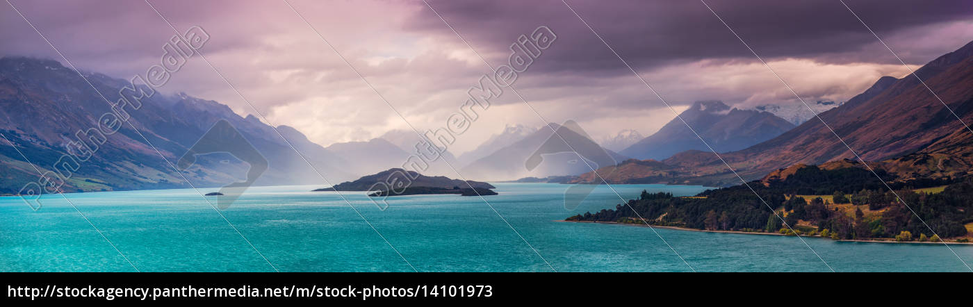 storm, over, glenorchy - 14101973